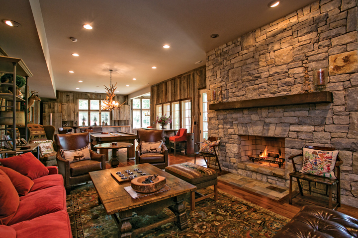 Greenbrier Sporting Club offers luxury residences throughout 11,000 rolling acres at The Greenbrier, the legendary West Virginia resort. Photo courtesy Greenbrier Sporting Club