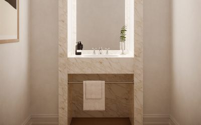 The Perfect Powder Room