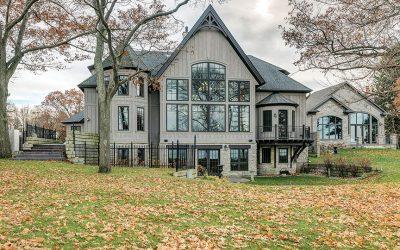 Custom Canadian Lakefront Estate