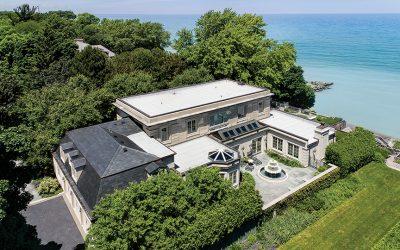 Vestige of the Historic Grand Estates of Chicago's North Shore