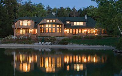 World-Class Retreat on Lake Winnipesaukee in New Hampshire