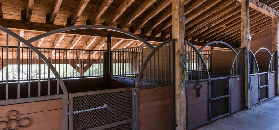 4 Horse Stables