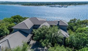 Aerial view of this amazing waterfront property