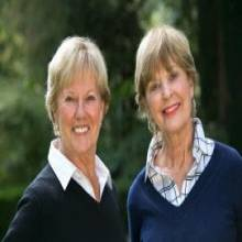 Susie Reuter and Bev McQuone