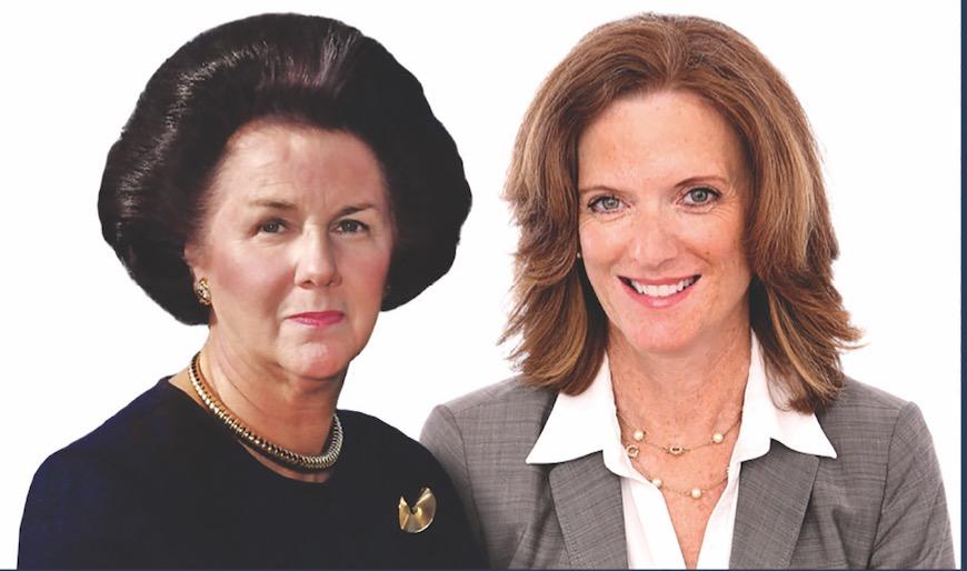 Nancy and Lynn Dolan