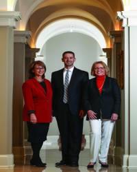 Suzy Goldstein, Erich Goldstein and  Marjorie Kennamore
